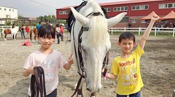 英式馬術體驗 - 小小騎士身心養成夏令營