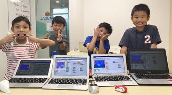創建自己的 3D 遊戲世界 兒童「程式學習」全英文夏令營(6 ~ 8 歲)